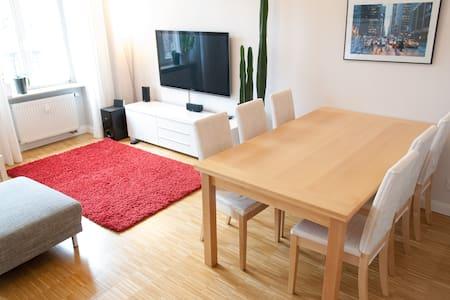 Hochwertige Altbauwohnung mit Südbalkon, Parkett - Dresden - Apartamento