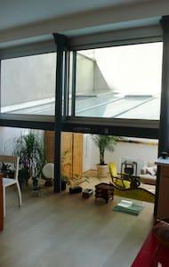 Chambre privée dans loft 120m2