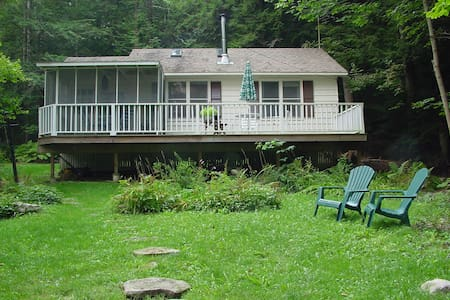 Enchanted cottage with lake view - New Marlborough