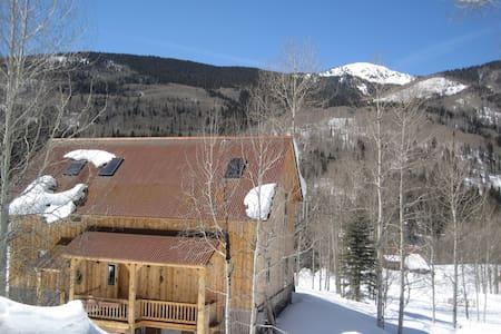 SW Colorado serenity, Mts. & river - Rico