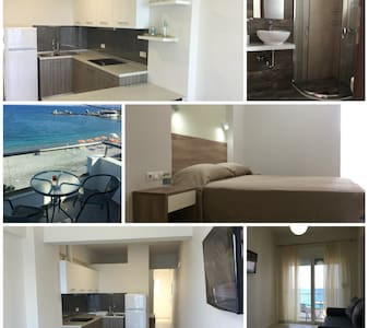 Haraki Blue Pearl apartment with sea view - Appartement