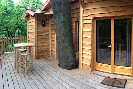 Cabane dans les arbres Cime - Raray - Boomhut