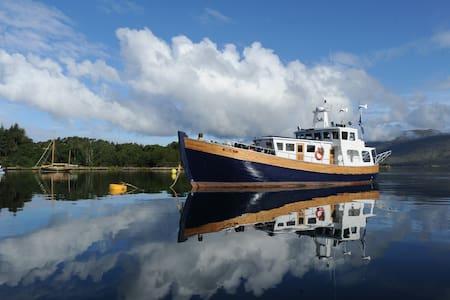 Scottishmarine safari cruise boat - Fort William - Bot