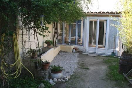 Maison de village proche Montpellie - Dom