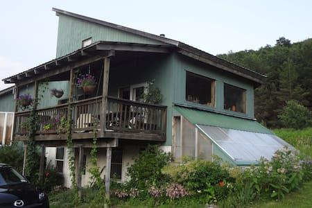 The Tree House, Newfield NY - Casa