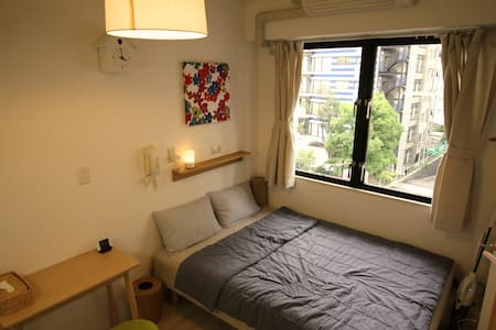 MUJI 1 Room near Subway & Osaka Castle - Apartment