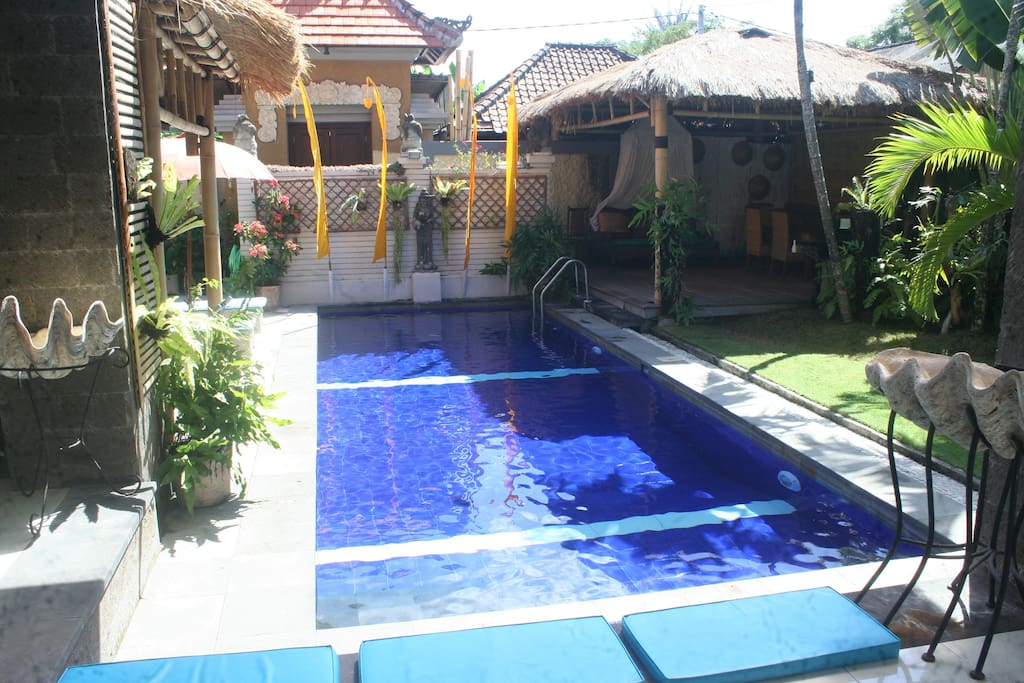 LARGE Swimming Pool, 9.2 meter x 3.2 meter, 30 feet x 10.5 feet. NO Pool Fence.
