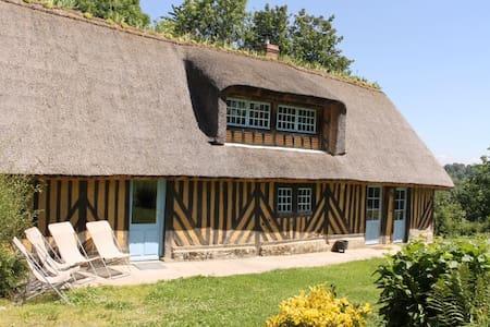Chaumière normande - 6 km Honfleur - House