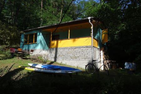Waldhäuschen am See, Naturpark - Bollersdorf