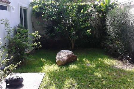 habitacion con jardin y piscina - Conkal