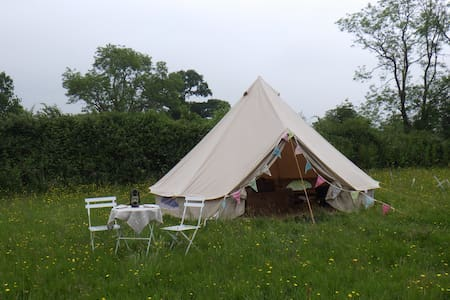 Clover Bell Tent, Leafy Fields Glamping - Tent