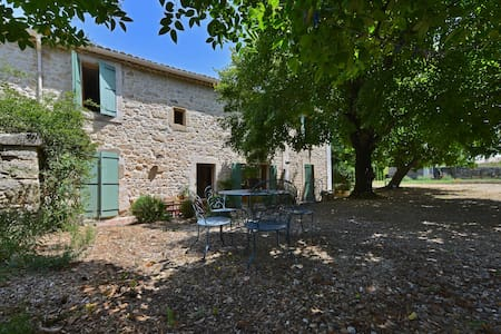 Rooms in provencal farmhouse