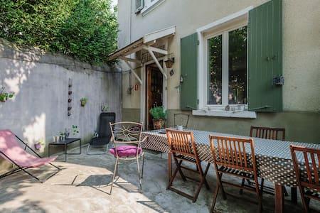 Maison de charme 1930 proche Lyon. - Lentilly - Huis