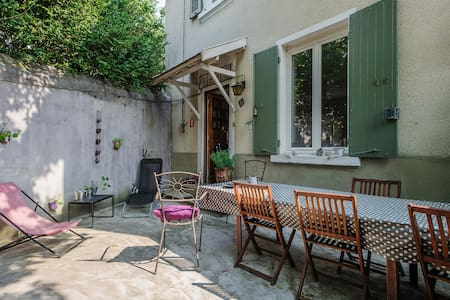 Maison de charme 1930 proche Lyon. - Casa