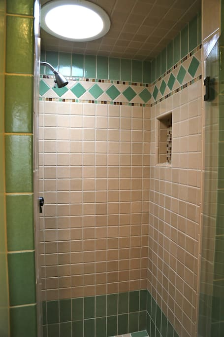 The water pressure is probably the best part of the room! Great showers guaranteed ;-)