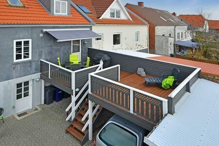 Moderne byhus i Bramming