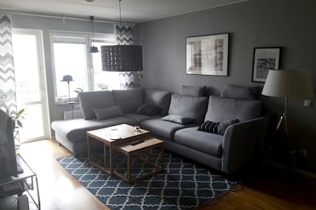 Cosy private room 5min walk to downtown (+ bike) - Uppsala - Apartment