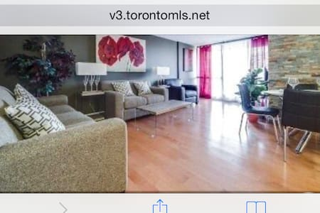Fully furnished, Internet & TV Clean/in heart of downtown Toronto. Plenty space with great balcony and Pool Access. Is just off Queen Street so virtually everything is walkable, also right next to Osgoode Subway Station and Streetcars