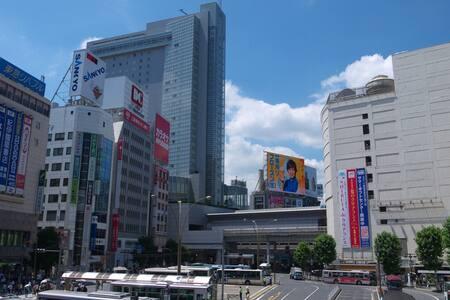 Shibuya cozy room 10min to Station