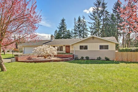 Private Remodeled Home - Large Yard - Hus