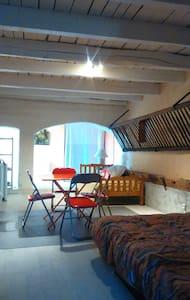 Studio meublé équipé/place parking/terrasse 6 m2 - Apartemen