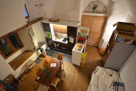 Tres beau/grand studio avec cachet - Veytaux - Kondominium