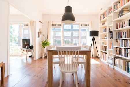 Beautiful and sunny 80m2 apartment near Vondelpark - Apartment