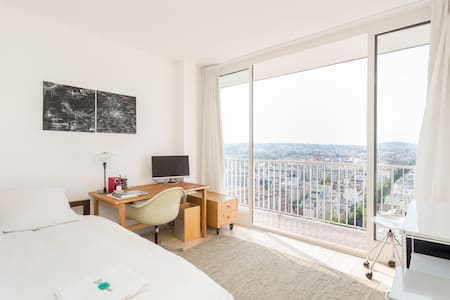 Room with awesome view on Paris - Boulogne-Billancourt - Lägenhet