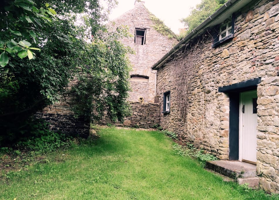 The Forge is surrounded by equally old buildings giving visitors a lovely sense of times past