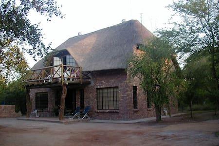 Leadwood Lodge Bush house - Casa