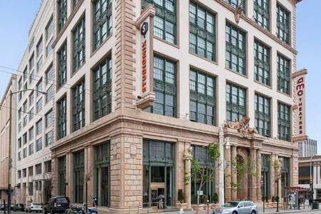 Centrally located historic Cadillac building - San Francisco