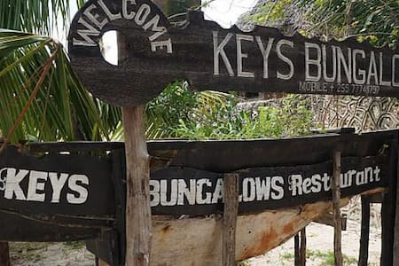self contained rooms with sea view - Matemwe - Bungalow