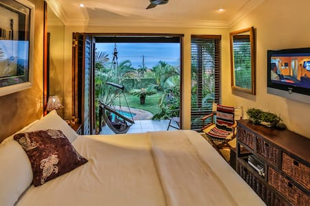 Babalito - Sub-tropical vibe in the Kande Room - Bed & Breakfast