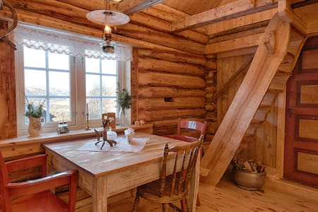 Cozy, rustic cottage at dairy farm - hytte på gård - Gausdal - Hytte