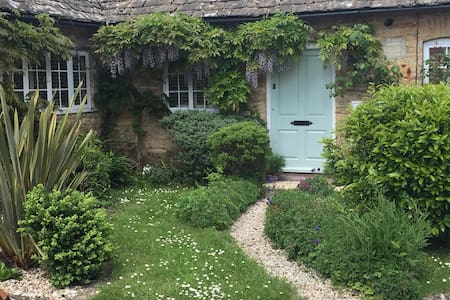 Charming, bright, luxurious Cotswold stone cottage - Casa