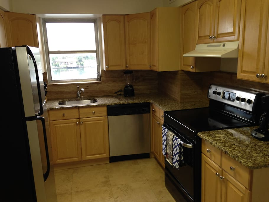 suites come with fully applianced kitchens