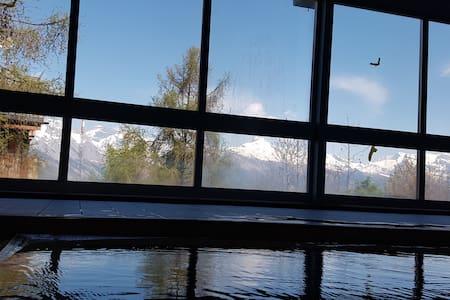 Bel appartement montagne piscine dans l'immeuble - Appartement