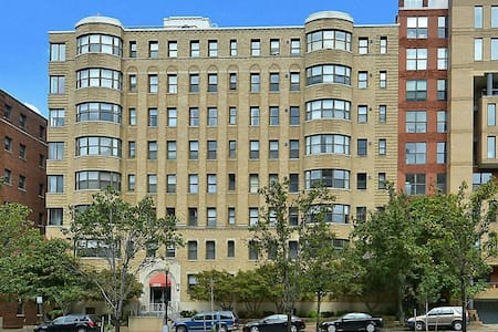 Spacious 1BR Condo in Foggy Bottom
