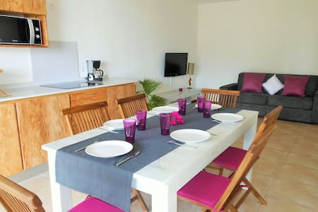 Standing apartment with seaviews - Les Anses-d'Arlet - Ház