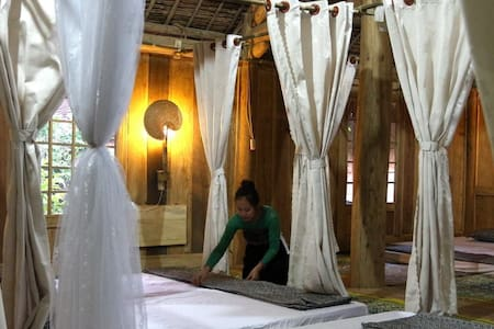 Thai wooden stilt house & FREE BIKE - Apartament