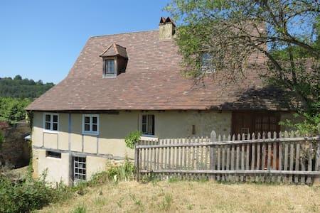 Maison de charme, village médiéval. - Plazac