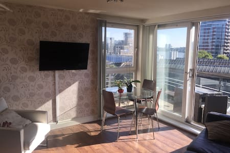 SW Ldn 1 bed river view apt