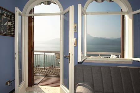Vista fantastico sul Lago di Garda - Wohnung