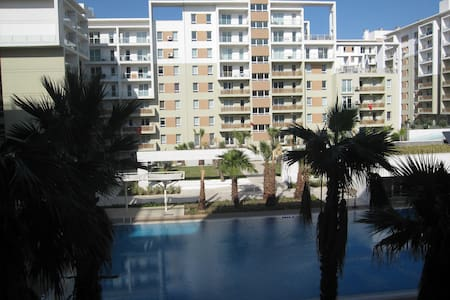1000 -2 room Flat with pool