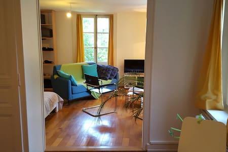 Logement de charme à Carouge - Carouge - Wohnung