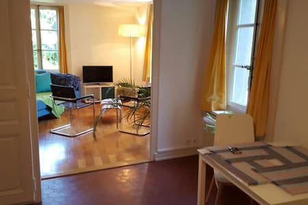 Logement de charme à Carouge - Appartement
