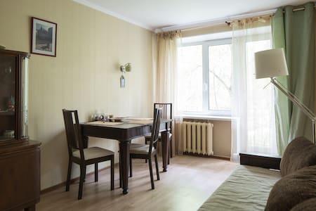 Уютная трехкомнатая квартира в Царском Селе - Leilighet