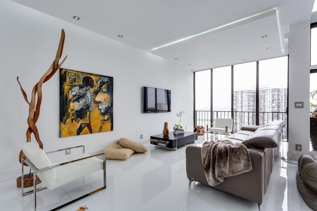 Luxury Two Story Ocean Penthouse