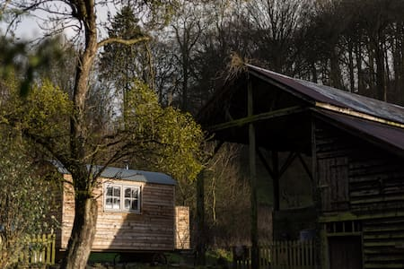 Tranquil, cosy, rural shepherds hut - Hut