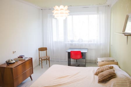 Retro double room\Central & Burger - Apartamento